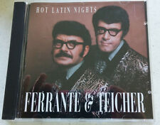 Hot Latin Nights Ferrante & Teicher Brazil Amor Anna Adios Tico CDs Free Ship