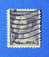 1932 THAILAND 5 SATANGS SCOTT# 227 MICHEL # 218 USED                     CS22164