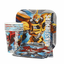 Nick Jr. Transformers Birthday Party Express Pack 8 guests (Plates,Cups,Napkins)