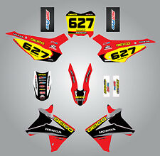 Full  Custom Graphic  Kit Honda CRF 110 2013 - 2015 - SONIC  style, stickers