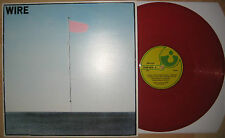 "12"" Color VINYL LP Pink Flag - Wire ---- Oi Punk XTC The Slits Fall Gang of Four"