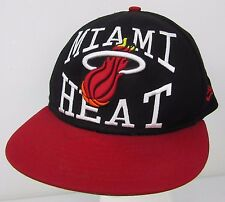 NEW ERA 9FIFTY Miami HEAT Hardwood Classics Snapback Cap Embroidered NBA HWC Hat