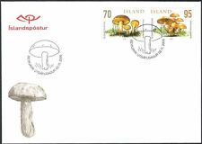 Iceland 2006 Fungi/Mushrooms/Nature/Plants 2v FDC (n16736)