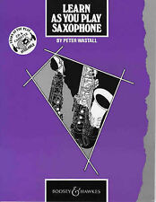 Learn as You Play Saxophone: Tutor Book by Peter Wastall (Paperback, 1983)