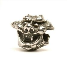 AUTHENTIC TROLLBEADS SILVER ANGEL & DEMON 11231 ANGELI E DEMONI