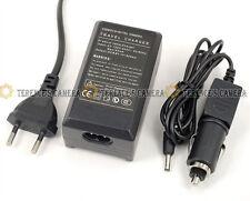 EU Plug Battery Car Charger f Panasonic VW-VBN130 (T) VW-VBN260 TM800GK TM900GK