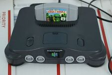 Nintendo 64 Charcoal Grey Console (NTSC) NUS-001 Authentic Original N64 w/ Game!