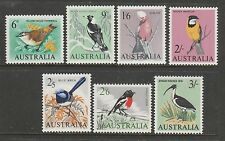 "1963 BIRD DEFINITIVE SET OF ""7"" COMPLETE MINT UNHINGED ""FRESH"""