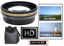 2.2x Hi Def Telephoto Lens for Panasonic HC-V700K HC-V700MK HC-V700