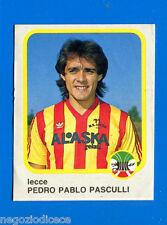 CALCIO FLASH '86 Lampo - Figurina-Sticker n. 143 - P. P. PASCULLI -LECCE-New