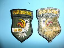 b3800 US Vietnam Novelty Patch Airborne Herd 101st and 173rd