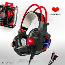 Gaming Headset PC PS4 PS3 Xbox + Microphone Gamer EACH G2000 BASS Spiel Kophörer