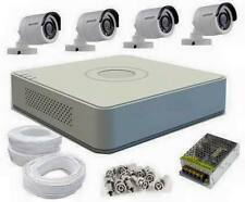 HIKVISION 4 Ch.HD DVR With 4 HD Day & Night Cameras + 90 Mtrs Wire CCTV Kit