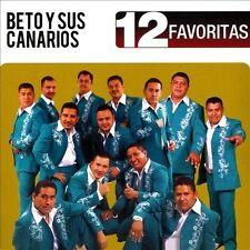 12 Favoritas * by Beto y Sus Canarios (CD, 2013, Disa)