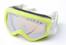 Burton Anon Majestic Youth Snowboarding Goggles (Yellow / Silver Amber)