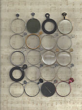 20  ANTIQUE and NEW OPTOMETRIST TRIAL or OPTICAL LENSES  Great Buy !