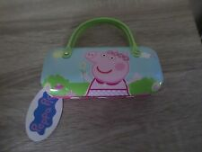 CLAIRES PINK PEPPA PIG GIRLS GLASSES CASE BNWT XMAS GIFT CHRISTMAS