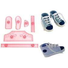 UK - Baby Shoes Baking Set Fondant Cake Making Mold Decorating Tools mould