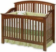 Nursery Baby Convertible Crib Woodworking Plans, Cutting List & Drawing Included