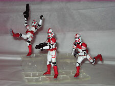 "20 -CLEAR Marauder I.D.S Star Wars ""Type"" Action Figure Stands"