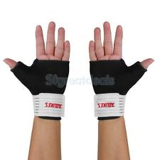 Wrist Thumb Palm Strap Hand Wrap Support Sport Gloves Splint Brace Sleeve Gym