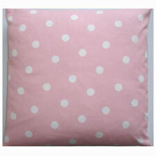 "NEW 16"" Cushion Cover Baby and White Polka Dots Pink Nursery Pillow Polkadots"