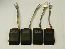 """NEW LOT OF 4 HELWIG CARBON MOTOR BRUSH 13-621292 2-1/8""""L 1-1/4""""W 5/8""""TH"""