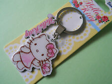 Sanrio Hello Kitty Enamel Metal Keyring - Brand New with Tag - Great Gift