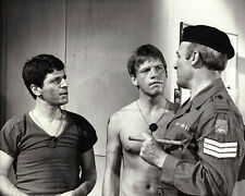 George Layton and Robin Askwith UNSIGNED photo - E622 - Stand Up Virgin Soldiers