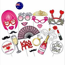 Hen's night Bride to be Party Bachelorette Selfie Photo Booth Prop Game Decor