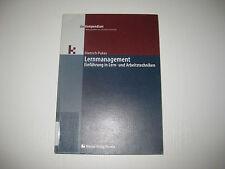 Lernmanagement von Dietrich Pukas  , 2. Aufl. 2005