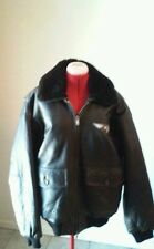 Arlen Ness leather bomber motorcycle jacket