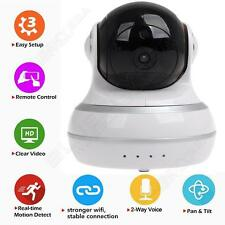Q10 HD 720P Wifi cámara vídeo 2 vías audio Talk PT Baby Monitor IR for Iphone6,6