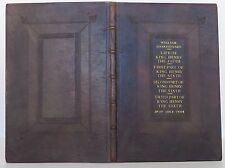 WILLIAM SHAKESPEARE Life Of King Henry The Fifth THIRD FOLIO