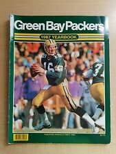 1987 Green Bay Packers Yearbook - Very Good condition! Complete