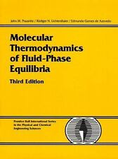MOLECULAR THERMODYNAMICS OF FLUID-PHASE EQUILIBRIA - NEW HARDCOVER BOOK