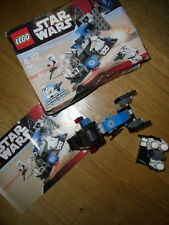 LEGO STAR WARS X2 PACKS 7667 AND 7668, COMPLETE WITH MANUALS