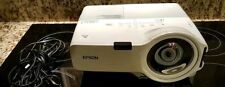 Epson PowerLite 410W LCD Video Projector Short Throw with Hook-Ups!!!