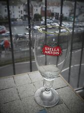 COLLECTABLE LAGER GLASS STELLA ARTOIS CHALICE  GREAT COND