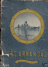 ARKANSAS BB-33 * 1944 Pictorial Review Free Shipping