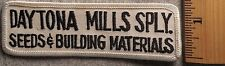 DAYTONA MILLS SUPPLY SEEDS & BUILDING MATERIALS PATCH (CONSTRUCTION, HARDWARE)