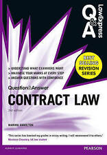 Law Express Question and Answer: Contract Law (Q&A Revision Guide) 3rd Edition …