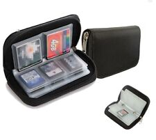 22Pcs SDHC CF MMC Micro SD Memory Card Carrying Pouch Storage Case Wallet Holder
