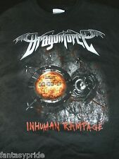 DRAGONFORCE- INHUMAN RAMPAGE WORLD TOUR 2006 T-SHIRT (NEW- SMALL)