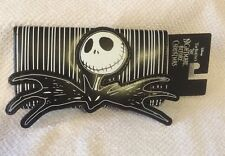 Nightmare Before Christmas Jack Skellington Trifold Striped Wallet Checkbook New