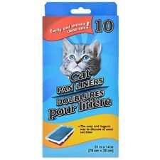 Cat Pan/Litter Box Liner Bags, Two 10-ct. Boxes 20 total Free Shipping US Seller