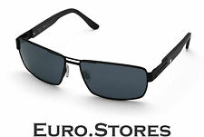 BMW M Collection Unisex Sunglasses Polycarbonate Grey Lenses Carbon Trim Genuine
