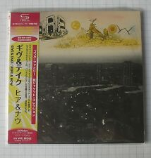HERE & NOW - Give & Take JAPAN SHM MINI LP CD NEU! VICP-70083 GONG