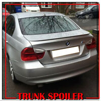 --PKUK BMW 3-Series E90 Boot Trunk Spoiler ABS 06-11 M3 Style Painted 354