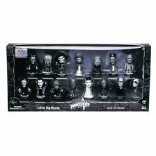 "Universal Monsters Classic Movie Bighead 3"" toy figure set, dracula, wolfman etc"